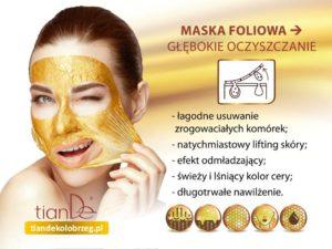 Oczyszczajaca-zlota-maska-tianDe-Kołobrzeg2-300x225 Maski oczyszczające do twarzy