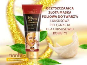 Oczyszczajaca-zlota-maska-tianDe-Kołobrzeg3-300x225 Maski oczyszczające do twarzy