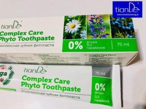 Dr. Taiga pasta do zębów TianDe Kołobrzeg1, Nowości Tiande Kołobrzeg