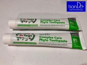 Dr. Taiga pasta do zębów TianDe Kołobrzeg2, Nowości Tiande Kołobrzeg
